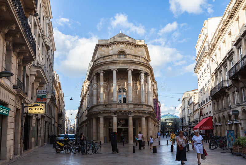 Mitt av Bordeaux royaltyfri foto