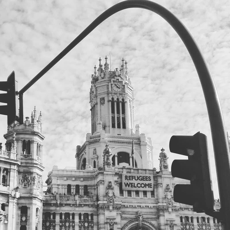 Mitt av Madrid royaltyfria bilder
