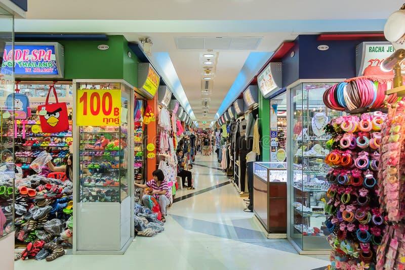 Mitt för shopparebesök MBK royaltyfria foton
