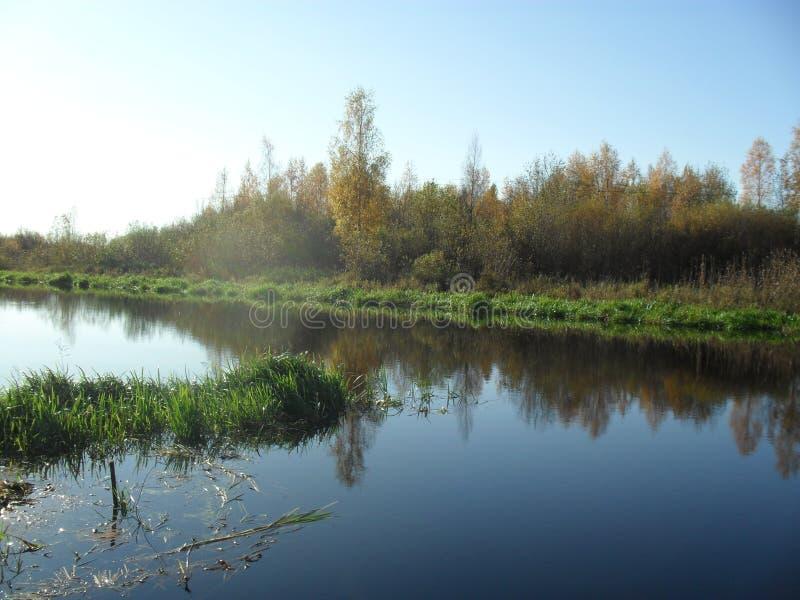 Mitt infödda land Den sceniska floden 3 arkivfoto