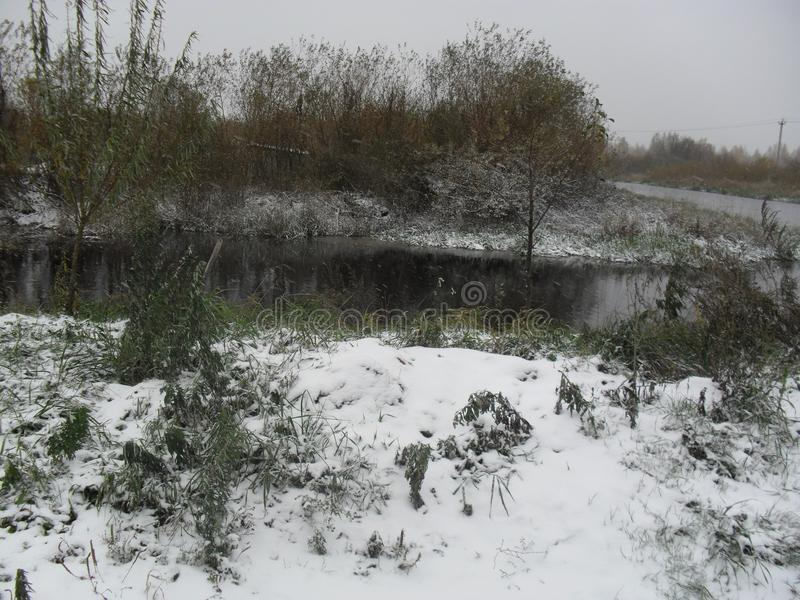 Mitt infödda land 1 vinter royaltyfria bilder