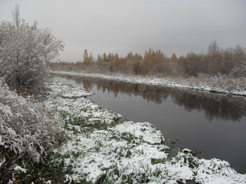 Mitt infödda land vinter 3 arkivfoto