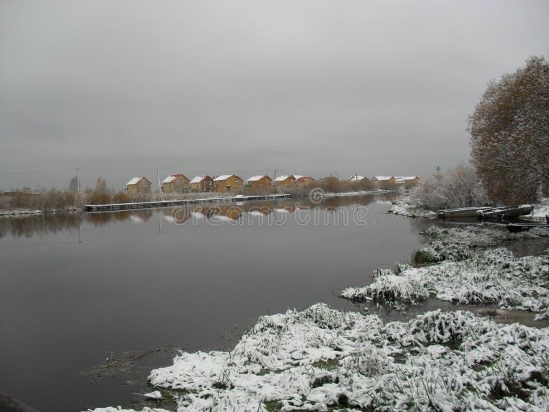 Mitt infödda land vinter 2 arkivfoto