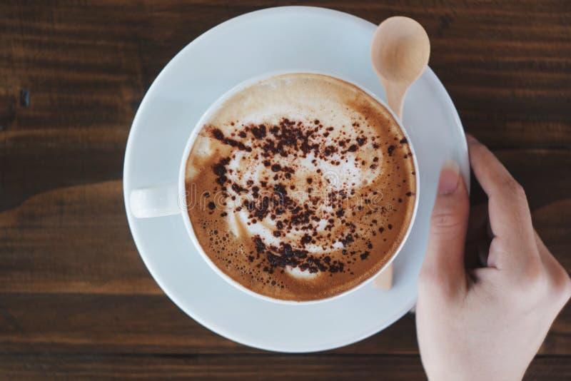 mitt kaffe royaltyfri foto