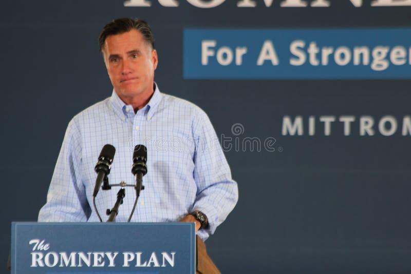Mitt Romney fotos de archivo libres de regalías