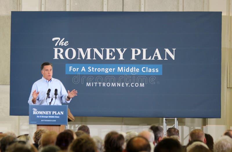 Mitt Romney imágenes de archivo libres de regalías