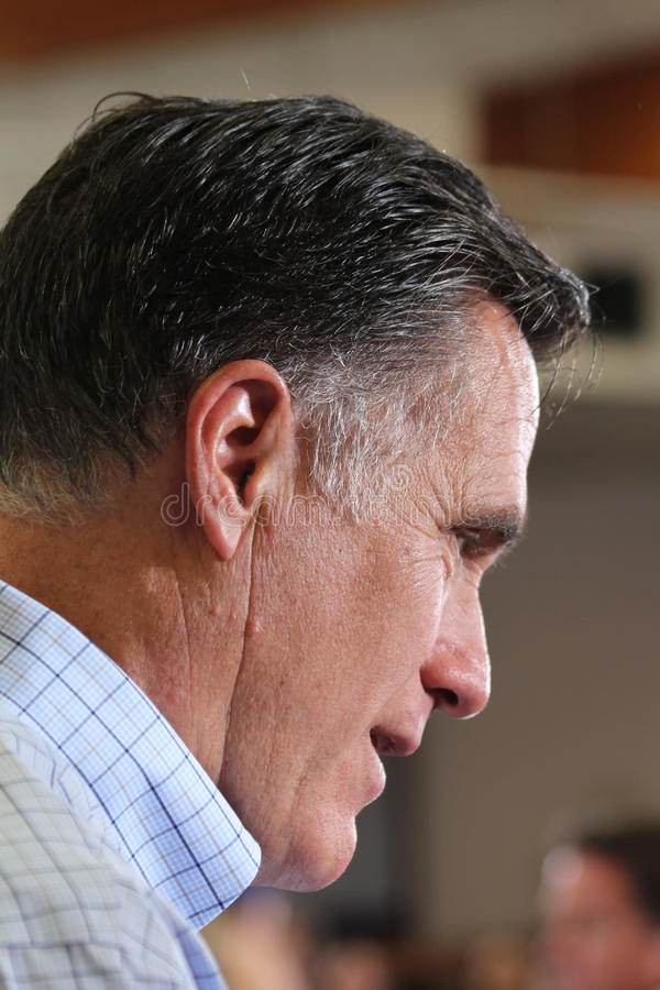 Mitt Romney royalty free stock images