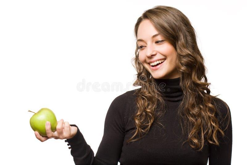 Mitt söta äpple. royaltyfria foton