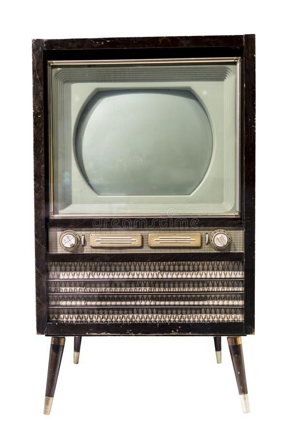 Mitt- 20th århundrade för TV arkivfoton