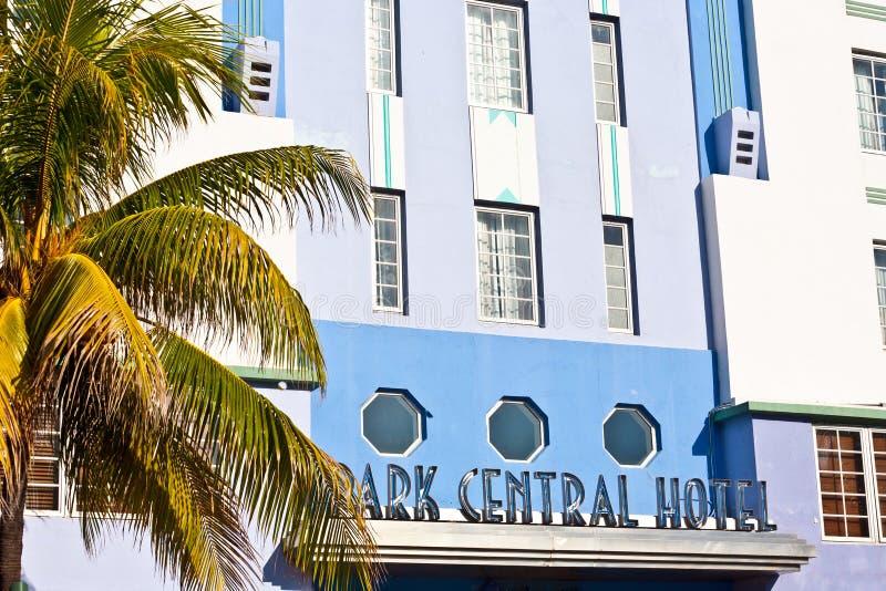 Mittagsansicht am Ozean-Antrieb in Miami lizenzfreies stockfoto