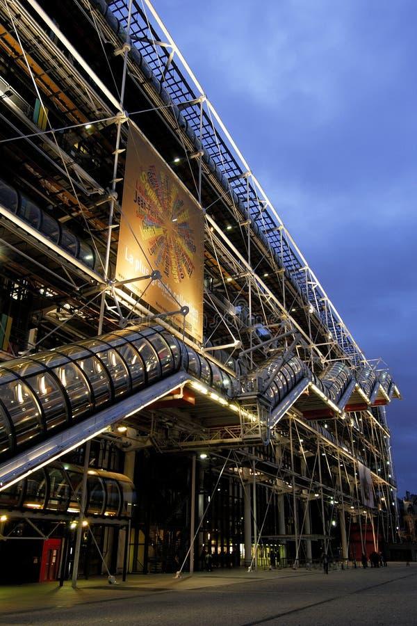 Mitte Paris Frankreich Georges-Pompidou lizenzfreies stockbild