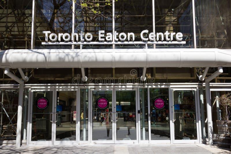 Mitte Torontos Eaton lizenzfreie stockfotografie