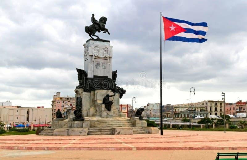 Mitte von Havana lizenzfreies stockfoto