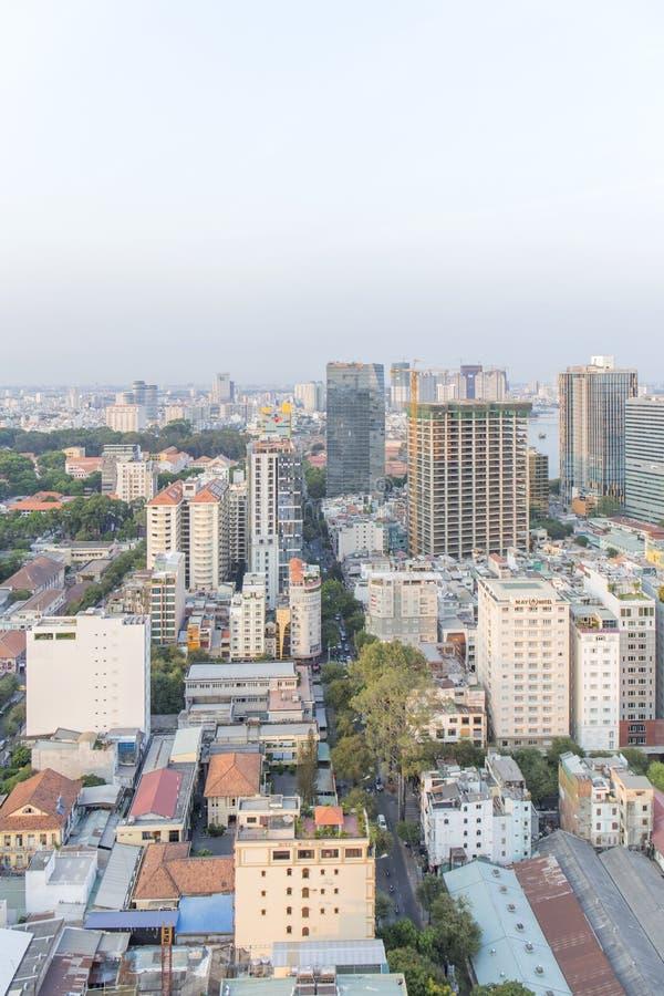 Mitte von Ho Chi Minh-Stadt stockbilder