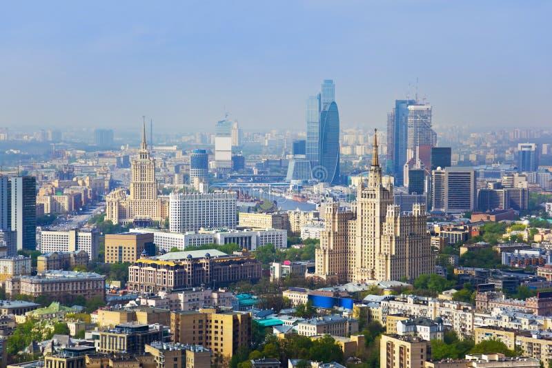 Mitte von Moskau - Russland lizenzfreies stockfoto