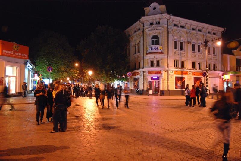 Mitte von Simferopol, Krim, Ukraine lizenzfreie stockfotografie