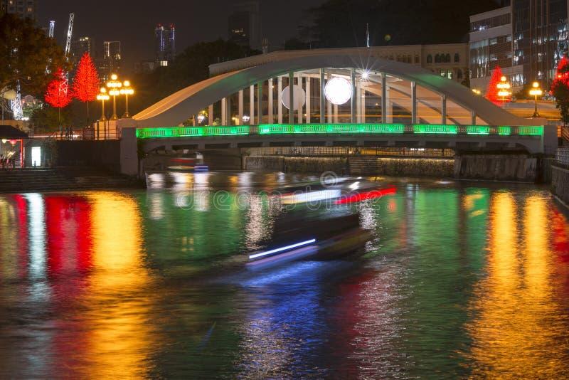 Mitte von Singapur, glättend in der Stadt stockbilder