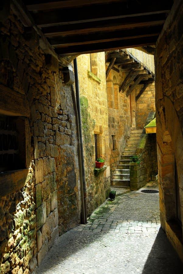 Mittelalterliche Architektur stockfotos