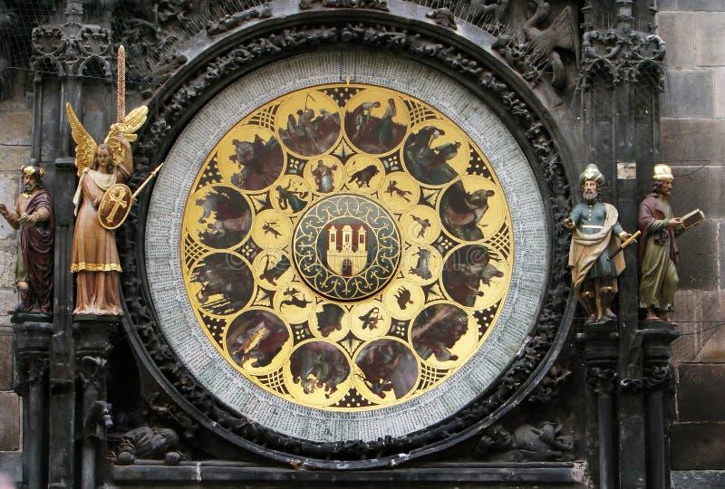 Mittelalterliche Borduhren (zusätzliches Teil) stockfotografie