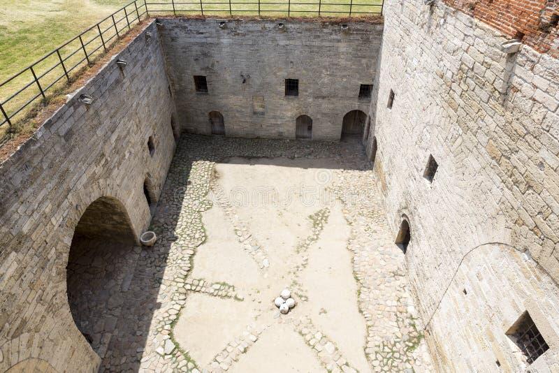Mittelalterliche Festung Baba Vidas stockbilder