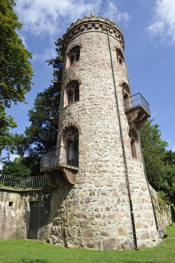 Mittelalterlicher Turm stockfotografie