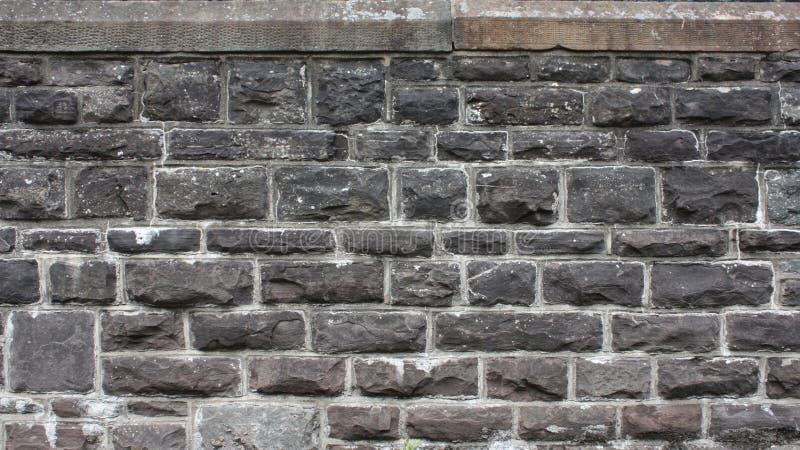 Mittelalterlicher Ziegelstein Wall73 stockbild