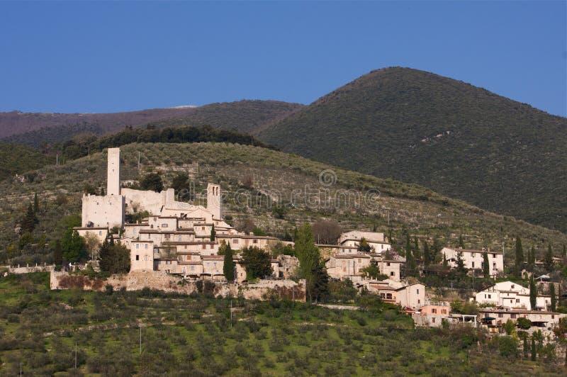 Download Mittelalterliches Dorf stockbild. Bild von dach, betriebe - 9088975