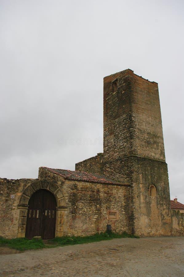 Mittelalterliches Dorf Pedraza, Spanien lizenzfreie stockfotografie