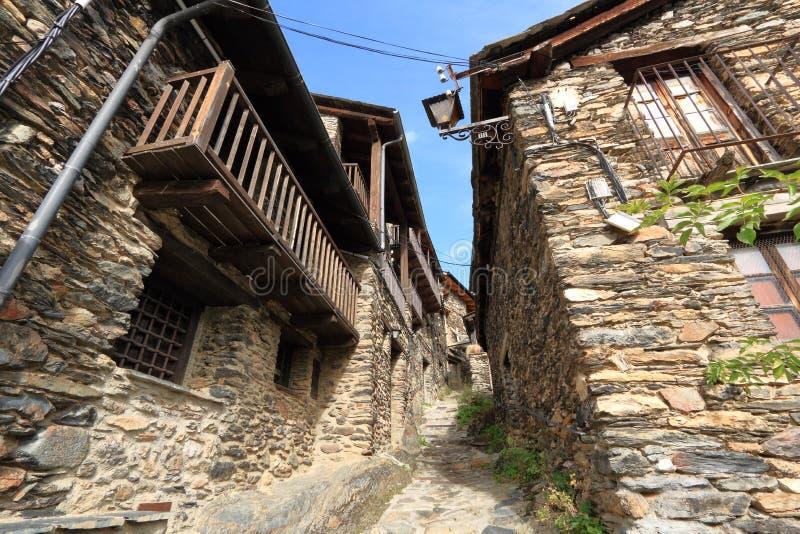 Mittelalterliches Dorf von Os de Civis, Spanien lizenzfreie stockfotos