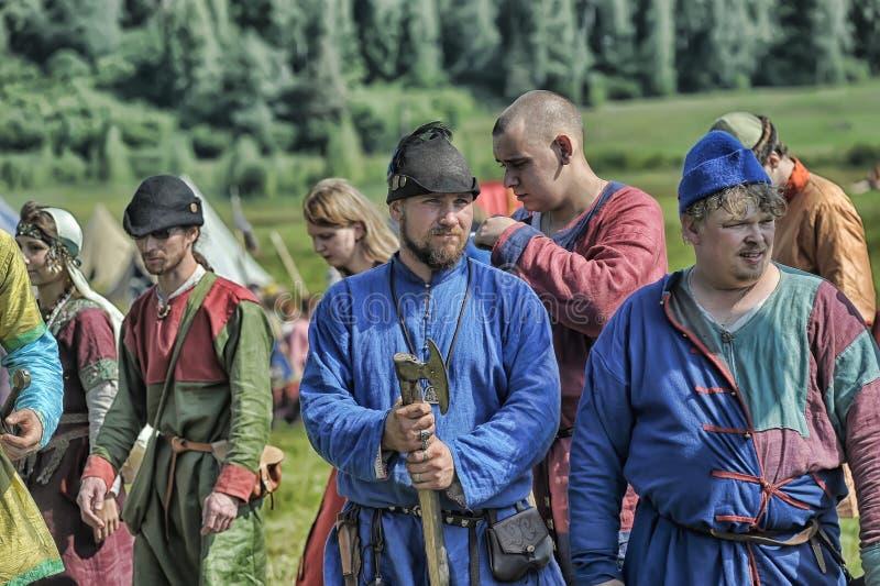 Mittelalterliches Fest lizenzfreies stockbild