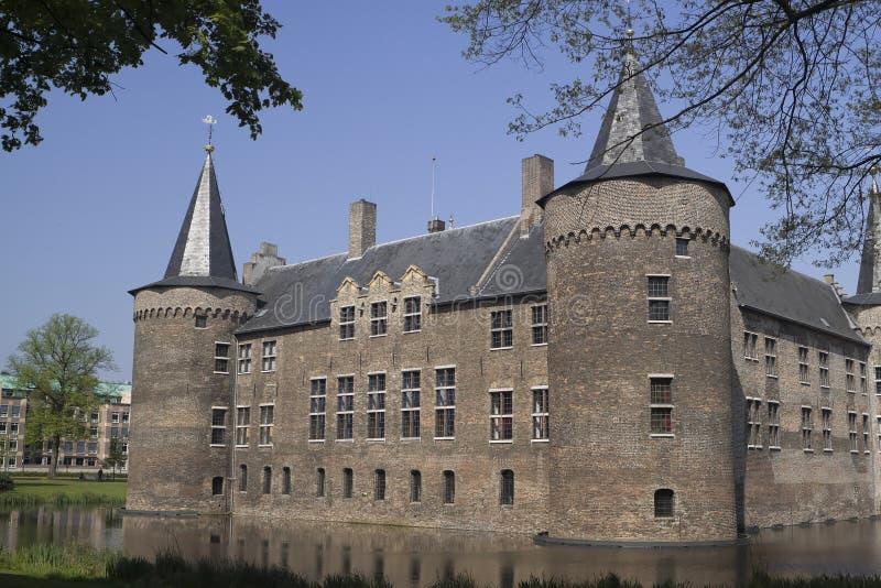 Mittelalterliches holländisches Schloss lizenzfreies stockbild