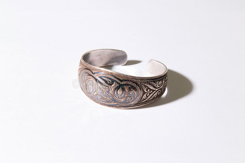 Mittelalterliches Kazakhstani-Armband stockbild