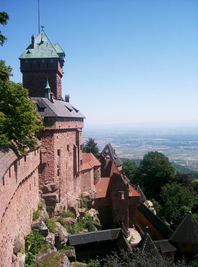 Download Mittelalterliches Schloss stockfoto. Bild von militärisch - 44584