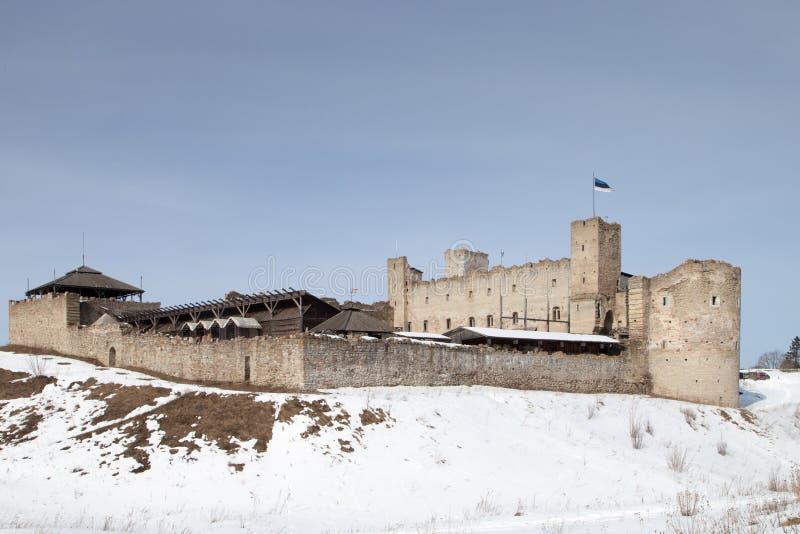 Mittelalterliches Schloss in Rakvere, Estland stockfotografie