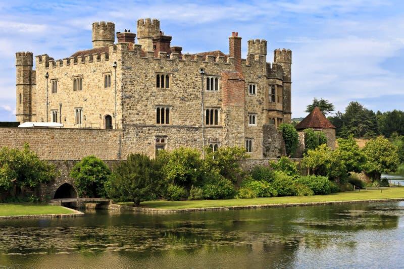 Mittelalterliches Schloss von Leeds, in Kent, England, Vereinigtes Königreich lizenzfreies stockfoto