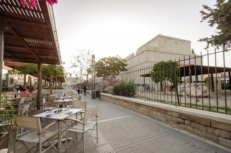 Mittelalterliches Schloss von Limassol, Zypern stockbilder