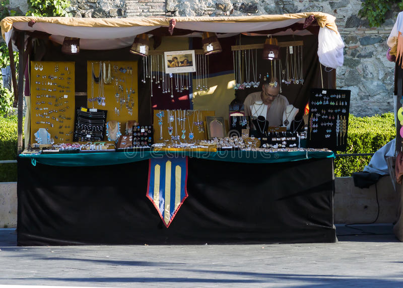 Mittelalterliches Toledo stockfoto