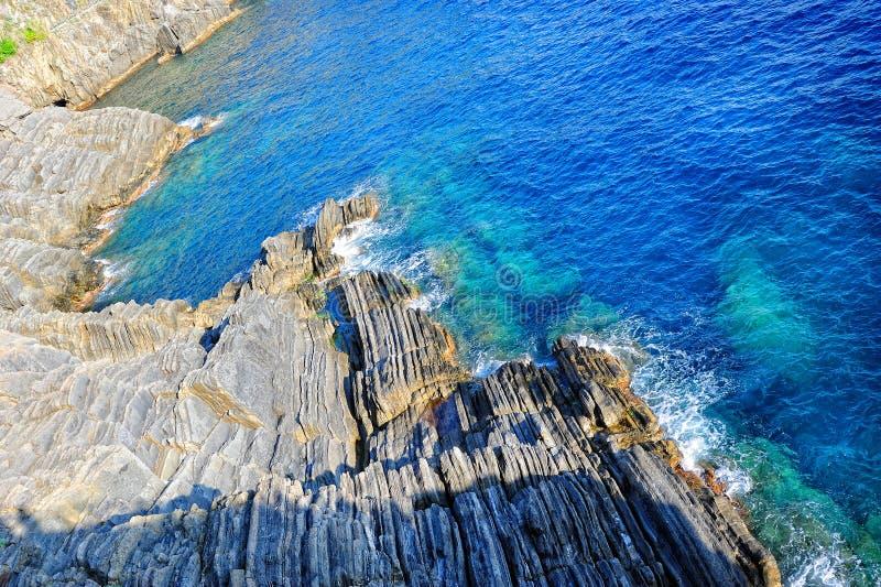 Download Mittelmeer- Und Gebirgshintergrund Stockbild - Bild von küste, cerulean: 26359257