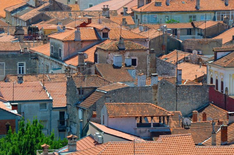 Mittelmeerdach lizenzfreies stockbild