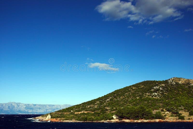 Mittelmeerlandschaft Kostenlose Stockfotografie