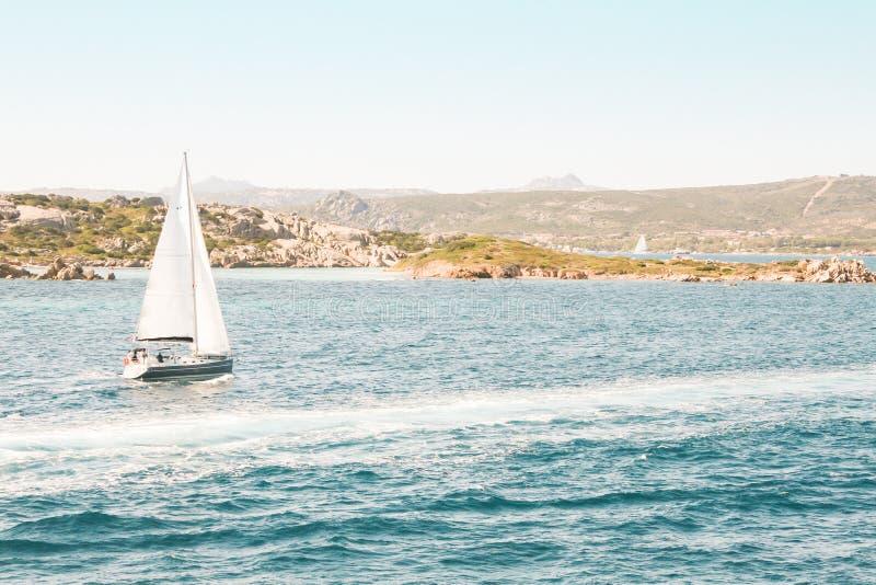Mittelmeersegeln stockfoto