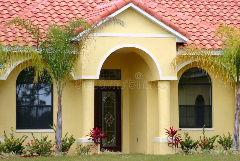 Mittelstand-Haus in Florida stockfotos