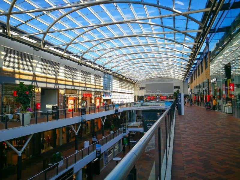 Mitten för uttag för den Birkenhead punktfabriken är en av mest älskade Sydneys shoppa destinationer och att ge kvalitets- shoppi royaltyfri bild