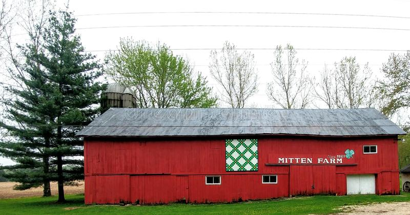 Mitten Farm - Mukwonago, Wisconsin royalty free stock image