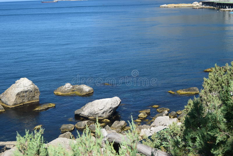 Mitten in Krim stockfotos
