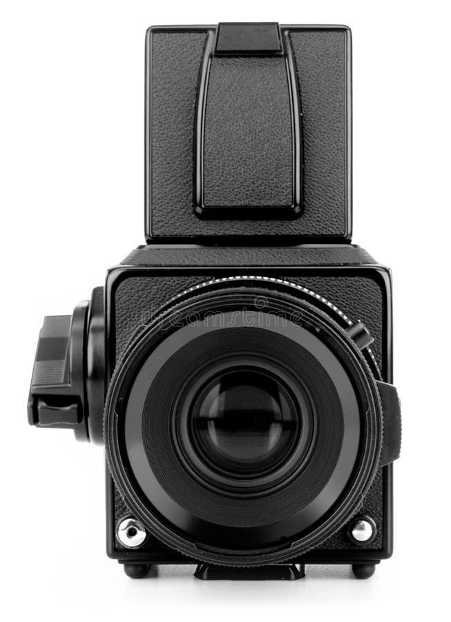Mittlere Formatkamera lizenzfreie stockfotos