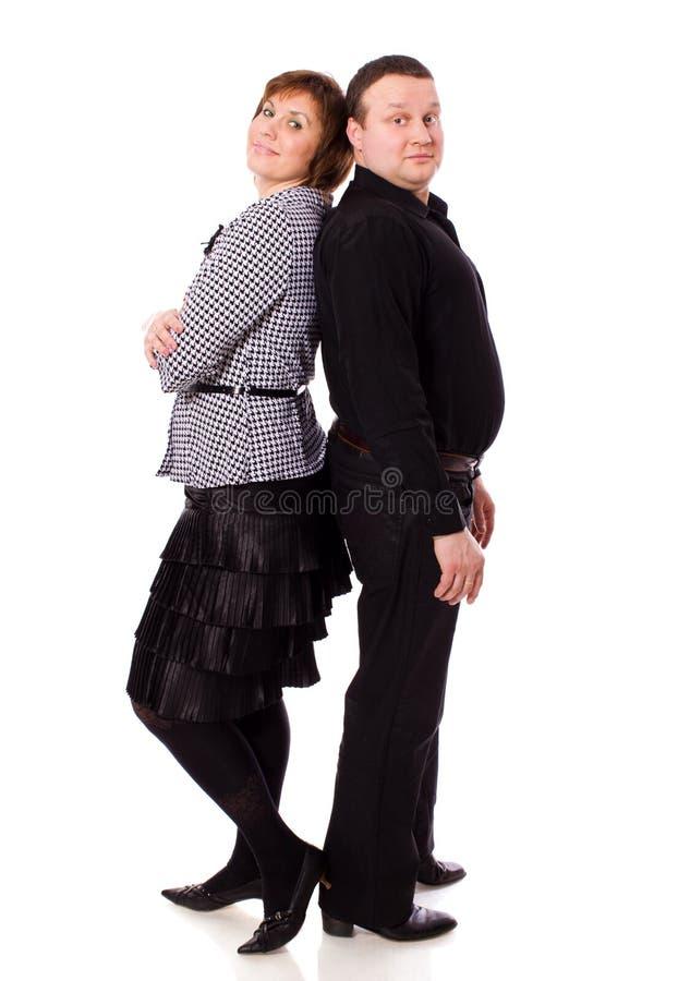 Mittlere gealterte Paare lizenzfreies stockbild