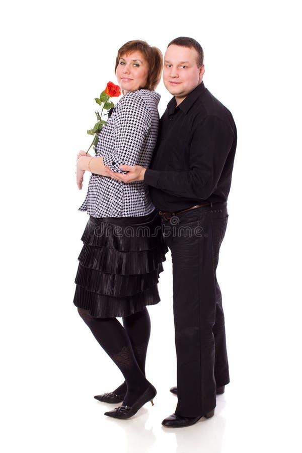 Mittlere gealterte Paare lizenzfreie stockfotografie