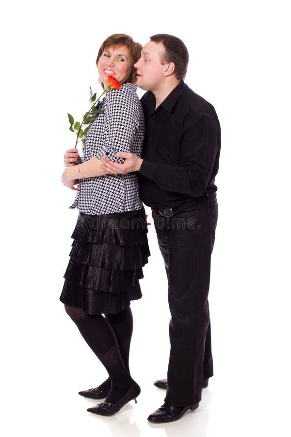 Mittlere gealterte Paare lizenzfreie stockfotos