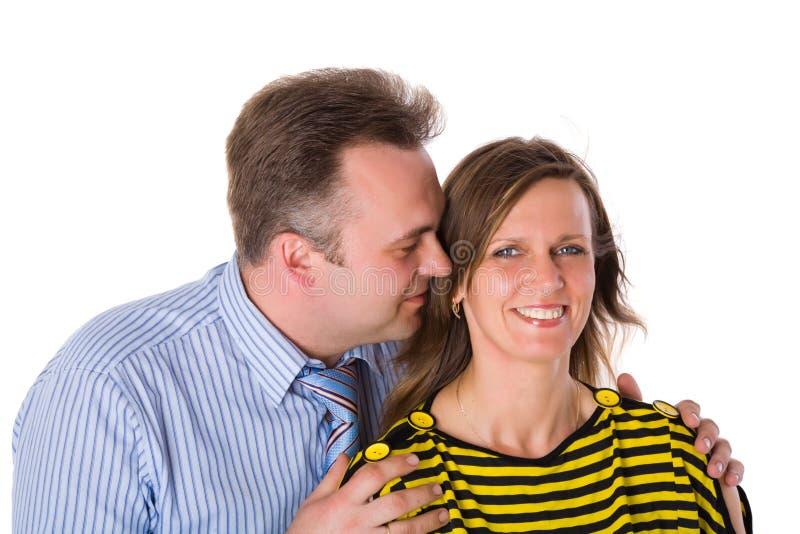 Mittlere gealterte Paare lizenzfreies stockfoto